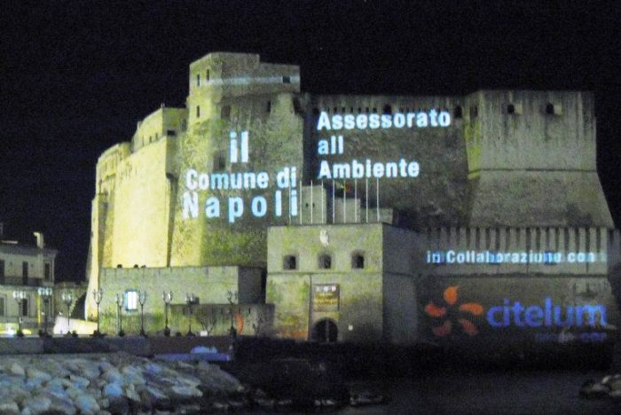 Franz Cerami illumina il Castello: Mapping Video a Napoli