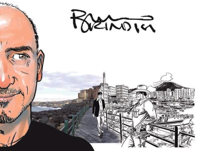 Alt compie due anni e festeggia con Bruno Brindisi, pilastro grafico di Dylan Dog