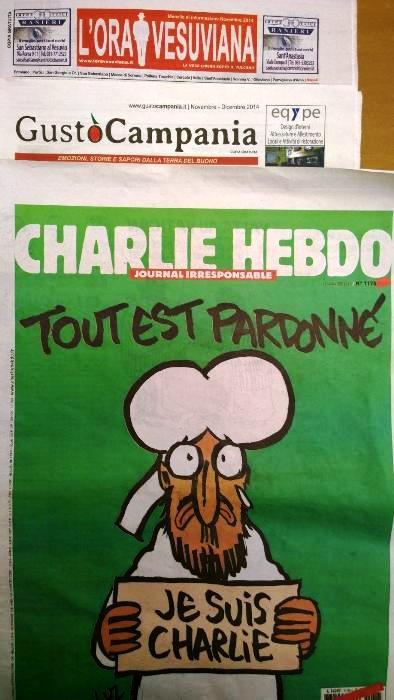 Charlie Hebdo, l'uscita dopo la strage: a Napoli copie introvabili. Io l'ho comprata a Pollena Trocchia, da Emilio