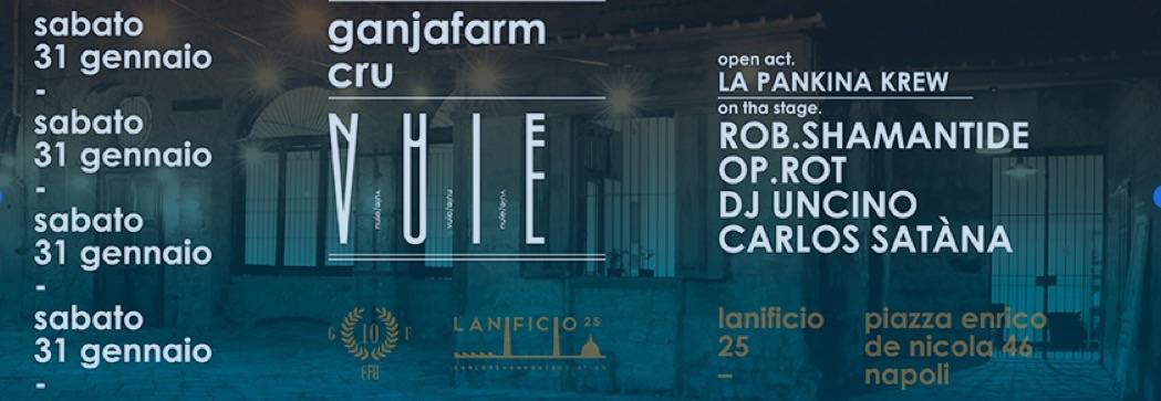 Black music al Centro Storico di Napoli: di scena al Lanificio 25, Ganjafarm Cru, la Pankina krew e Dj Uncino