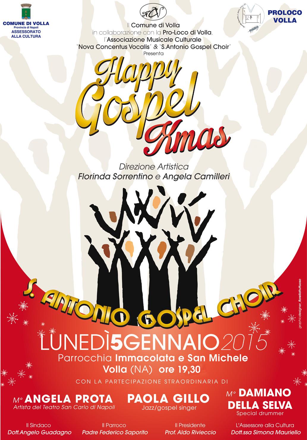 """Il comune di Volla presenta """"Happy Gospel Xmas"""""""