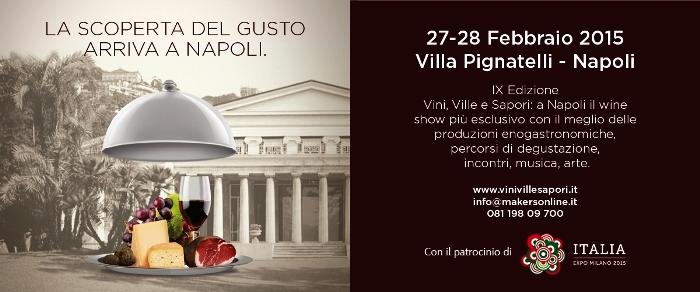 A Villa Pignatelli il Wine show più esclusivo che mette assieme Slow Food, Camera di Commercio e Fondazione Ente Ville Vesuviane