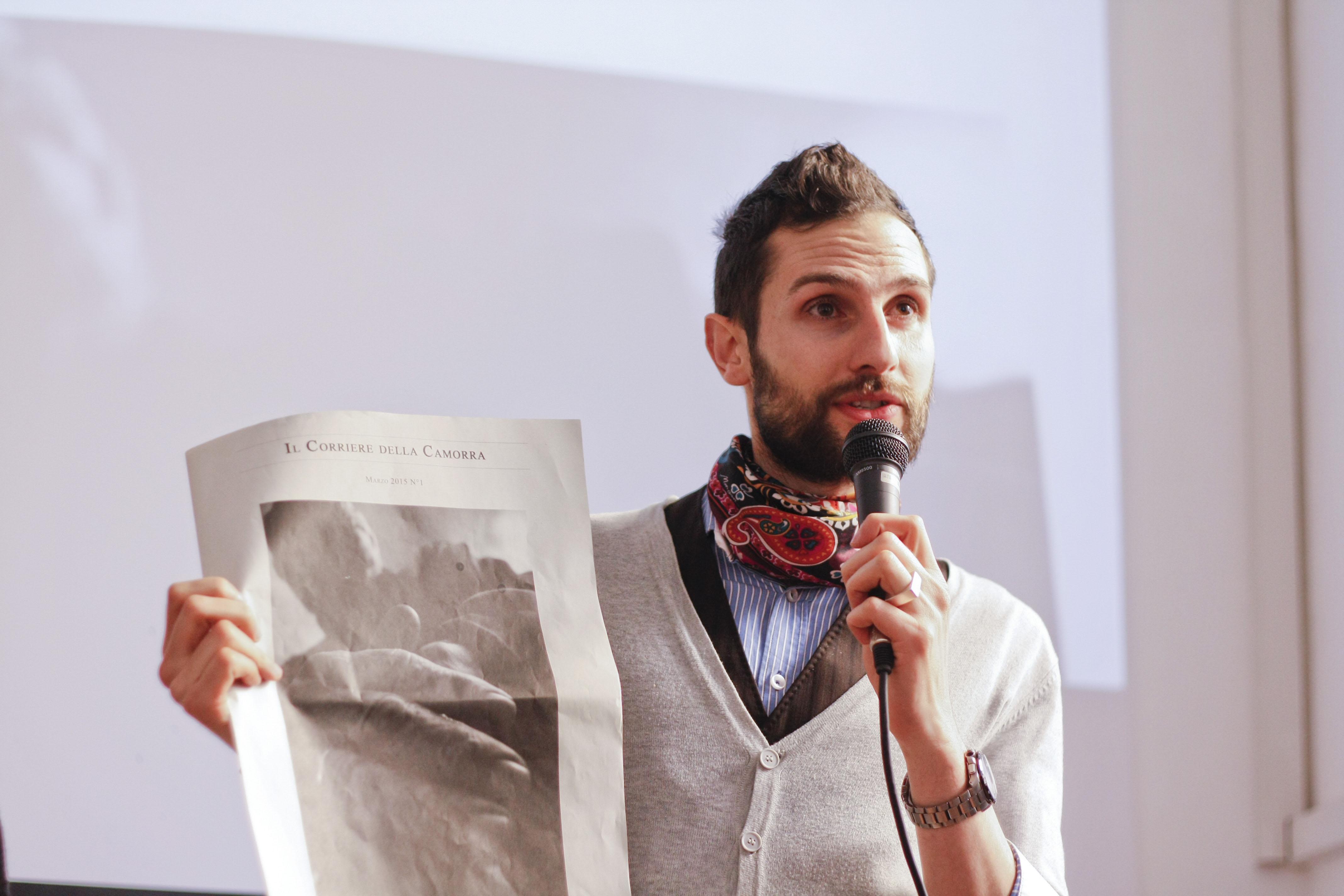 """Omar Jerez, il viaggio a Napoli e la nascita de """"Il Corriere della Camorra"""", arte e non solo per raccontare (un pezzo) di città"""