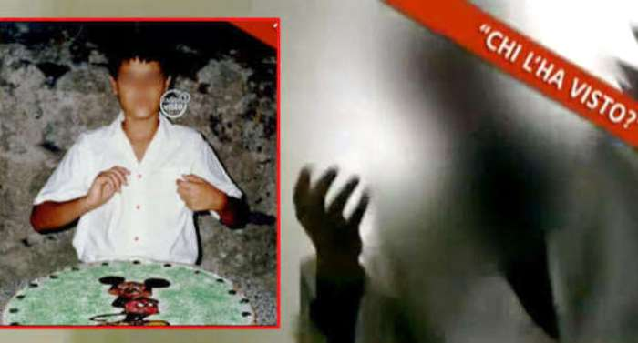 Pedofilia sotto il Vesuvio: anche Chi l'ha visto si occupa della triste storia di Diego