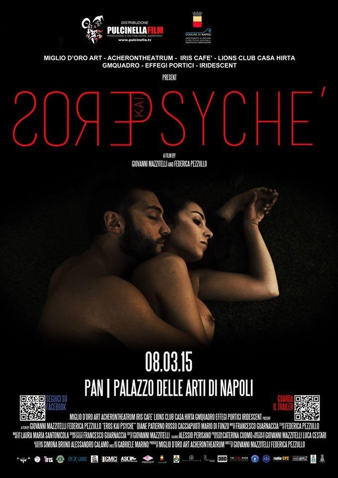 """Dalla presentazione al PAN di Napoli al Festival di Cannes: """"Eros kai Psichè"""" lo short-movie che racconta la violenza di genere tra amore e mito"""