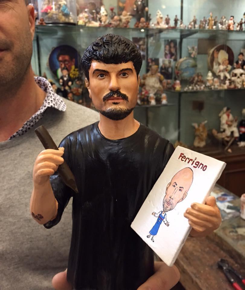 Il giovane vignettista di Maxim Giampiero D'Alessandro diventa una statuetta targata Marco Ferrigno