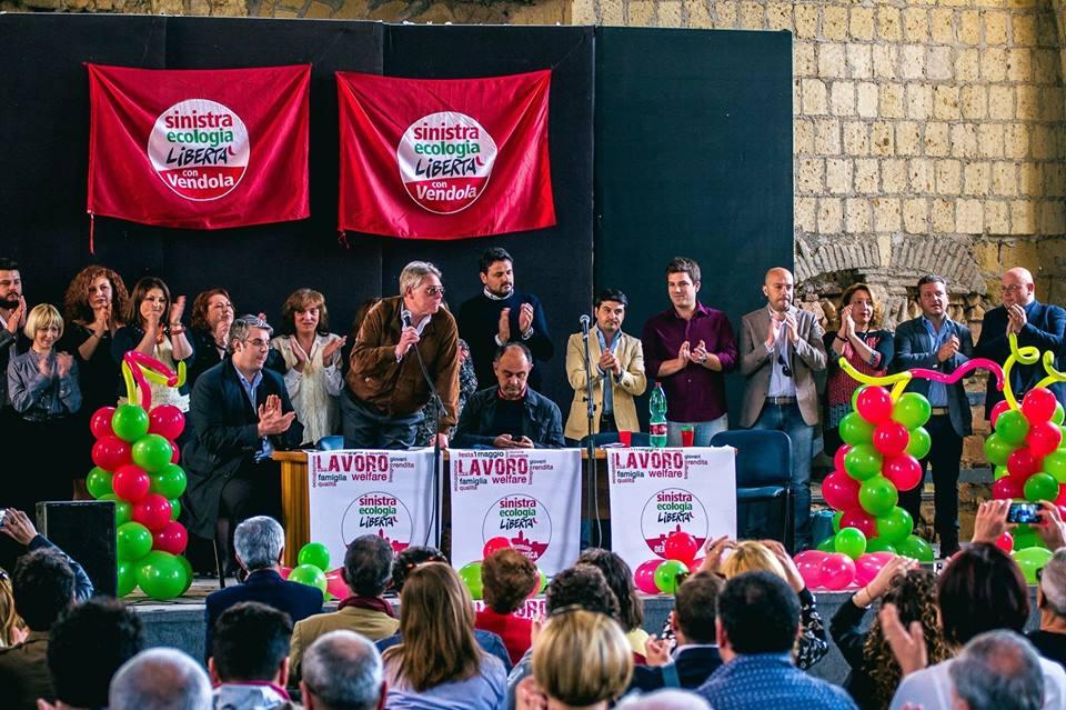 Sel lancia la squadra che unitasi a San Giorgio Democratica tira la volata a Giorgio Zinno