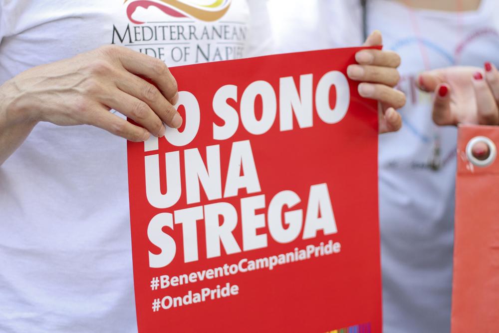 Benevento Campania Pride, la sfilata dell'orgoglio LGBT invade la città
