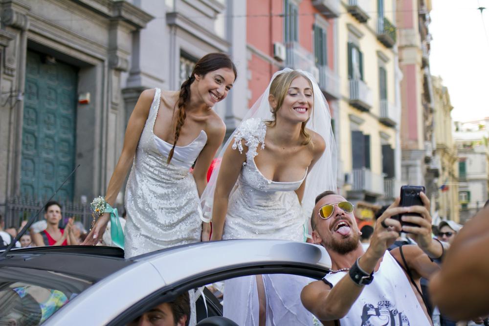 Napoli Pride, 60mila al corteo per chiedere uguali diritti
