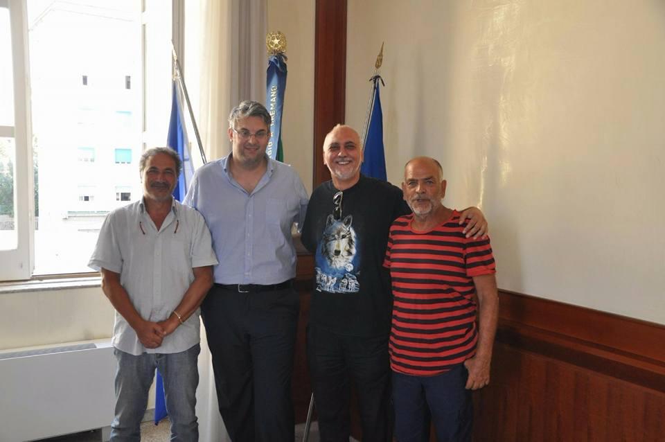 """A San Giorgio a Cremano il sindaco Giorgio Zinno incontra i rappresentanti del comitato """"Un parco al posto della fabbrica"""""""