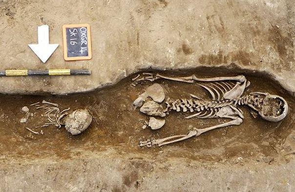 Ritrovato da alcuni operai in un cantiere a Sant'Anastasia uno scheletro di 100 anni fa
