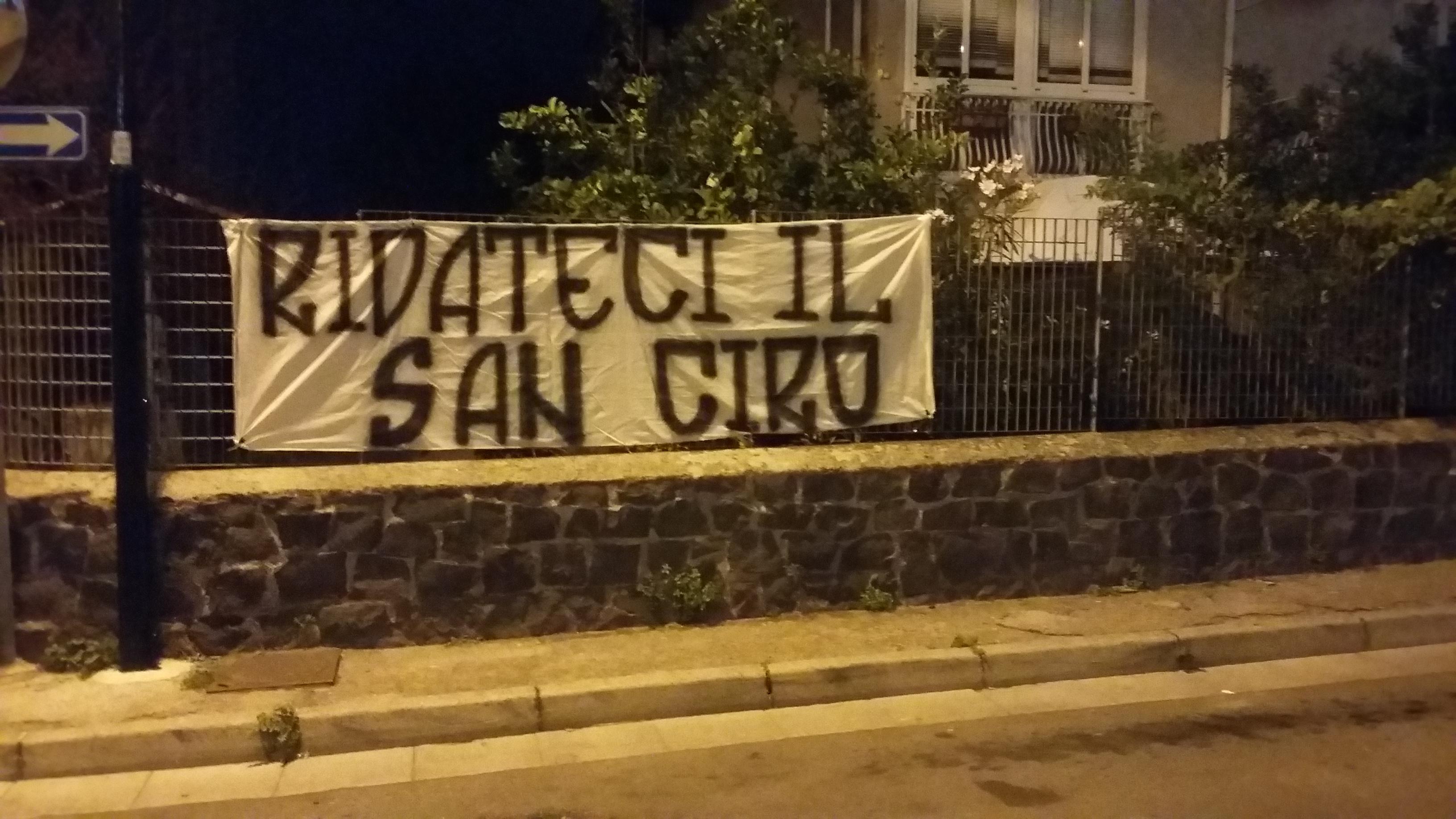 """""""Ridateci il San Ciro"""": la richiesta dei tifosi del Portici 1906"""