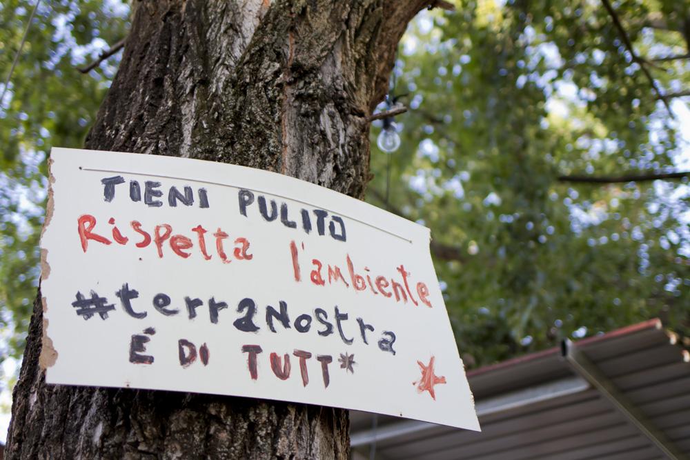 Terranostra Occupata, il collettivo che restituisce la terra ai territori