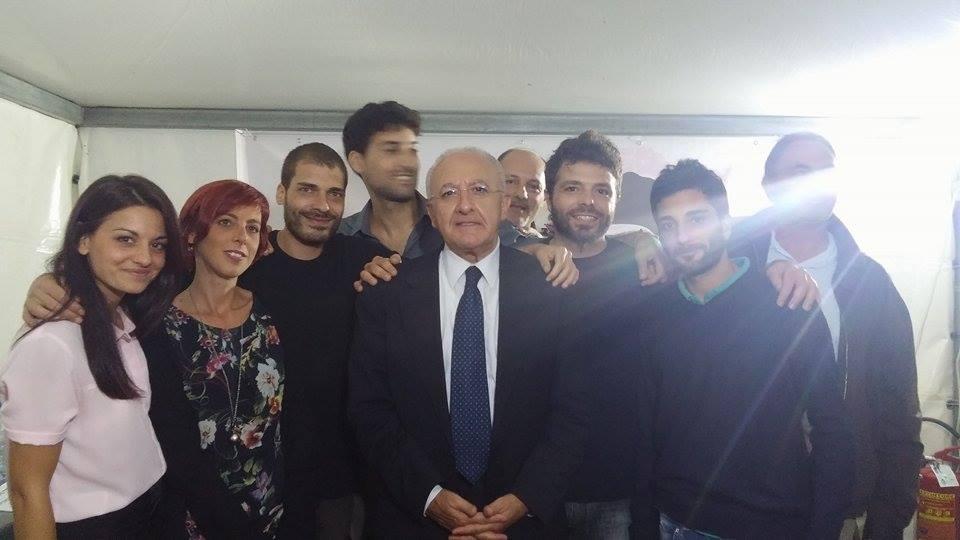"""Il Presidente De Luca a Radio Siani: """"La Caserma dei carabinieri? E' al centro della mia agenda politica"""""""