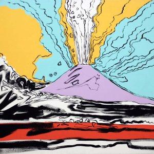"""Il """"Vesuvius"""" di Andy Warhol lascia Napoli"""