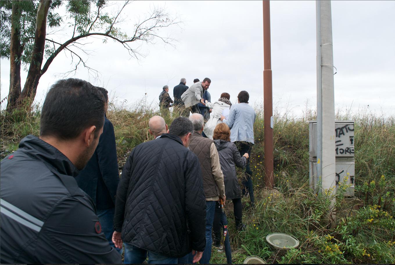 (Video e Foto) Terra dei Fuochi sotto il Vesuvio. La Commissione Parlamentare Ambiente in visita a San Vito (Ercolano)