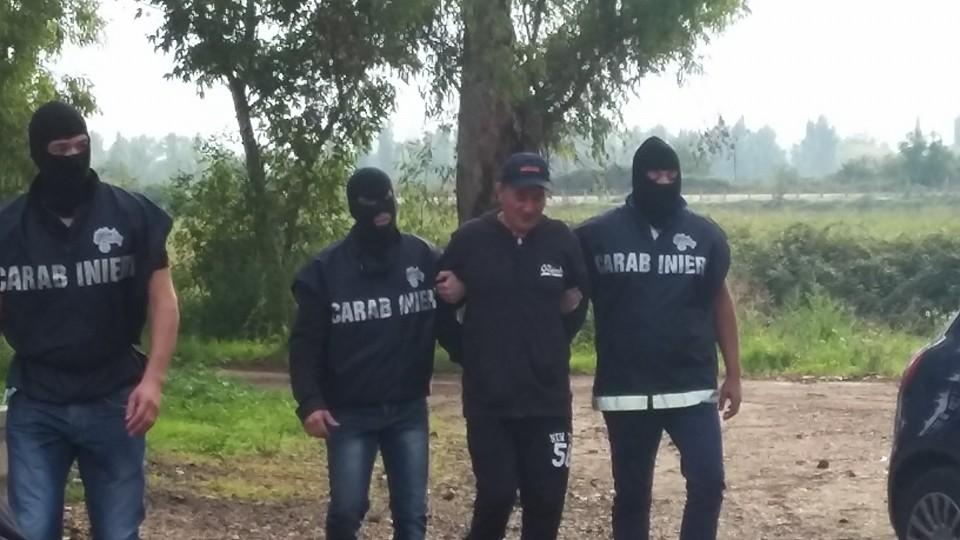 I carabinieri arrestano il boss dei boss: preso il latitante Michele Cuccaro