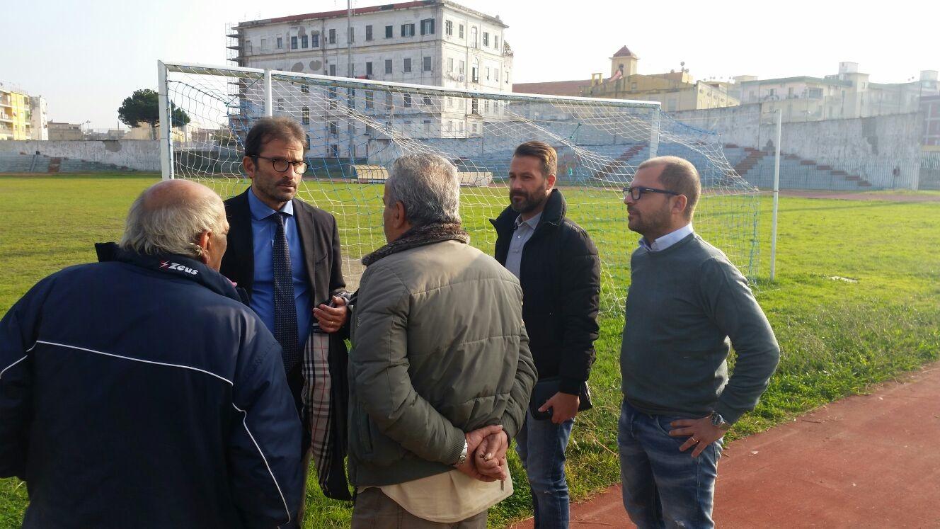 """Sopralluogo allo stadio San Ciro: """"Faremo di tutto per far giocare il derby nello stadio comunale"""""""