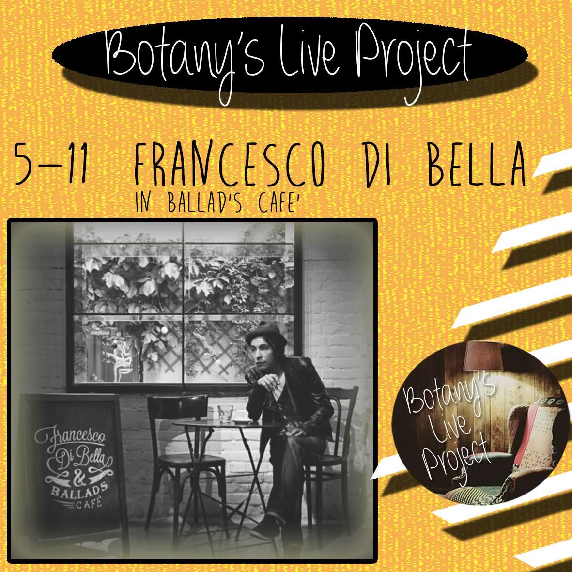 Botany's Live Project, nello storico locale di San Giorgio a Cremano Francesco Di Bella, Carola Moccia, Pink Bricks e Thelegati