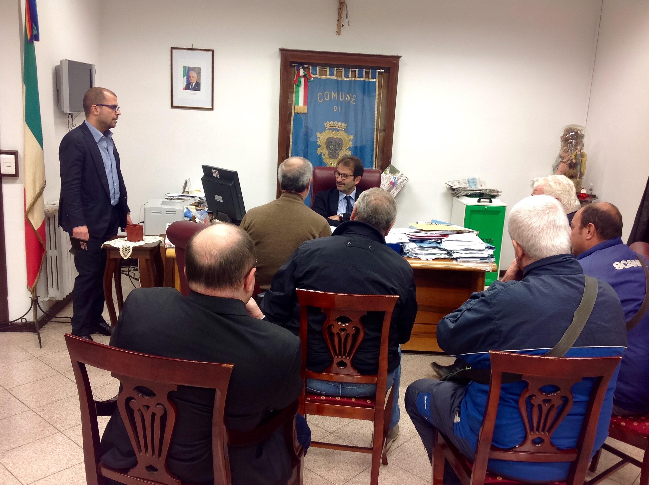 Questione Stadio San Ciro: il sindaco incontra una delegazione di tifosi del Portici 1906