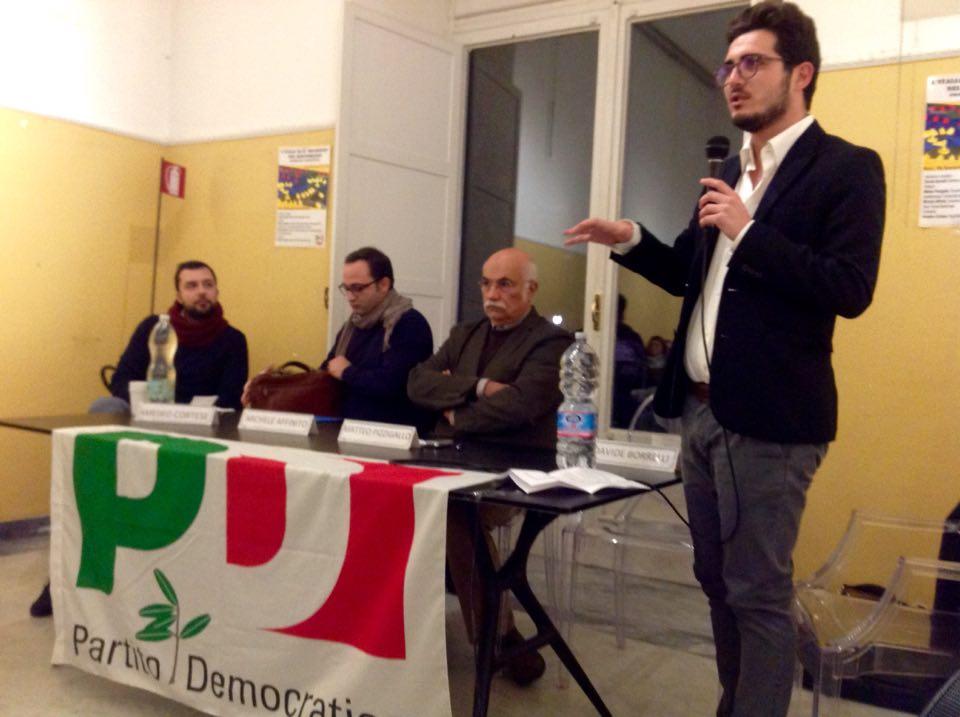 """""""L'Italia ed il disordine del Mediterraneo"""": il Partito Democratico di Portici torna ad essere """"spazio"""" di riflessione su argomenti di attualità internazionali"""