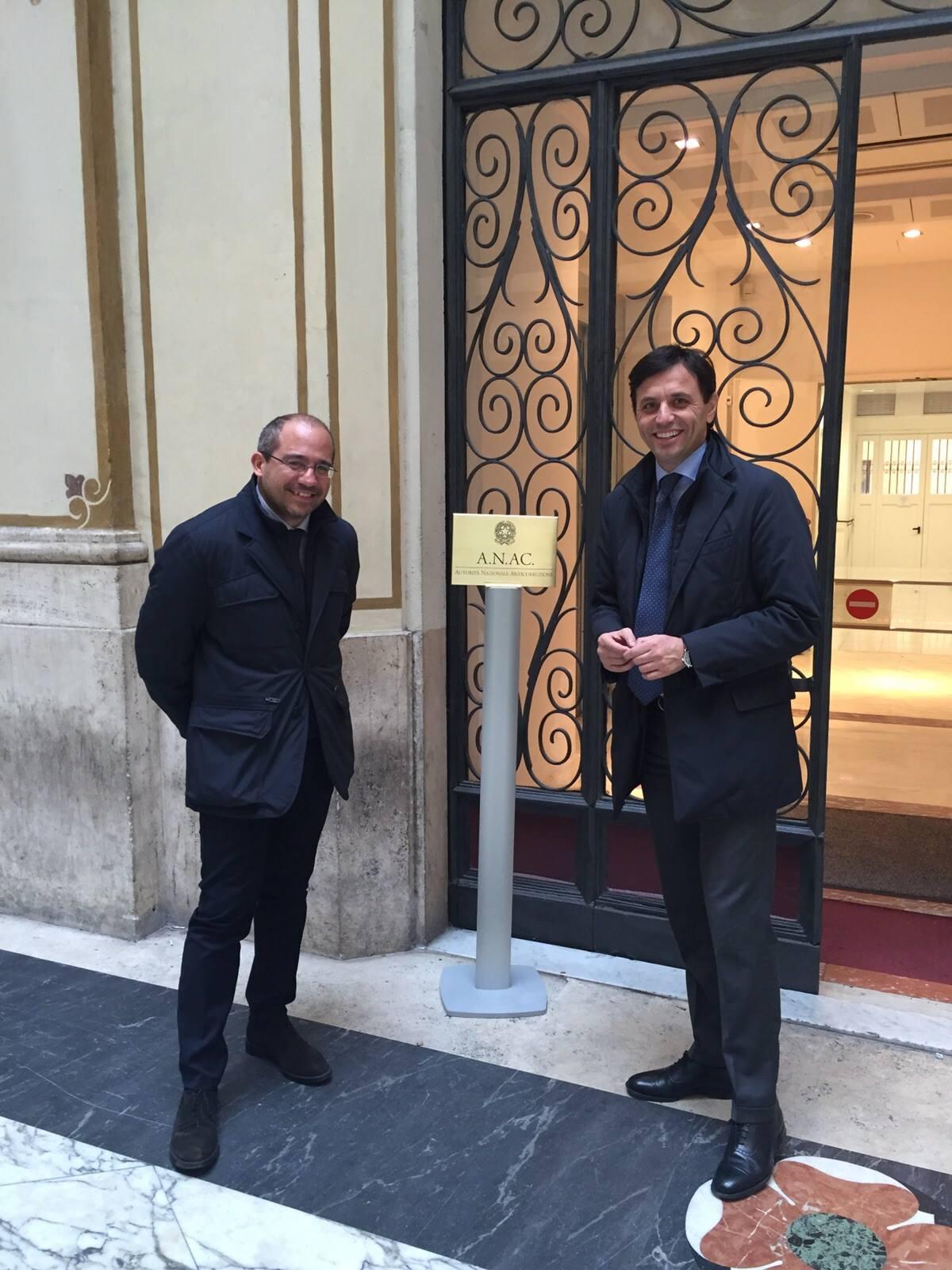 Audizione all'Anac per la vicenda della caserma dei Carabinieri a Ercolano. Buonajuto: «Passi avanti nell'istruttoria per valutare la regolarità delle procedure»