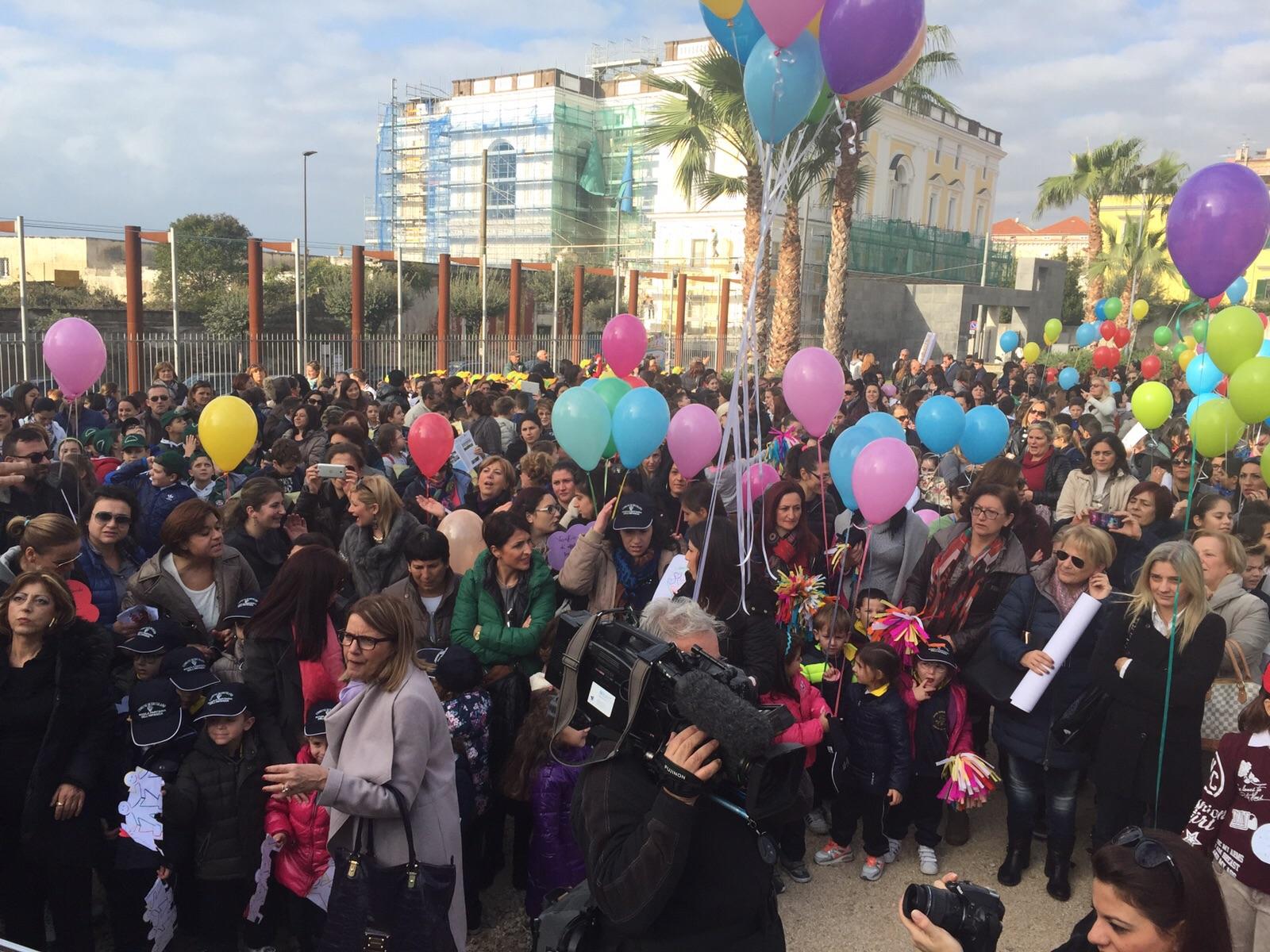 Giornata della Legalità e dei Diritti dell'Infanzia e dell'Adolescenza, a Ercolano mille studenti in piazza