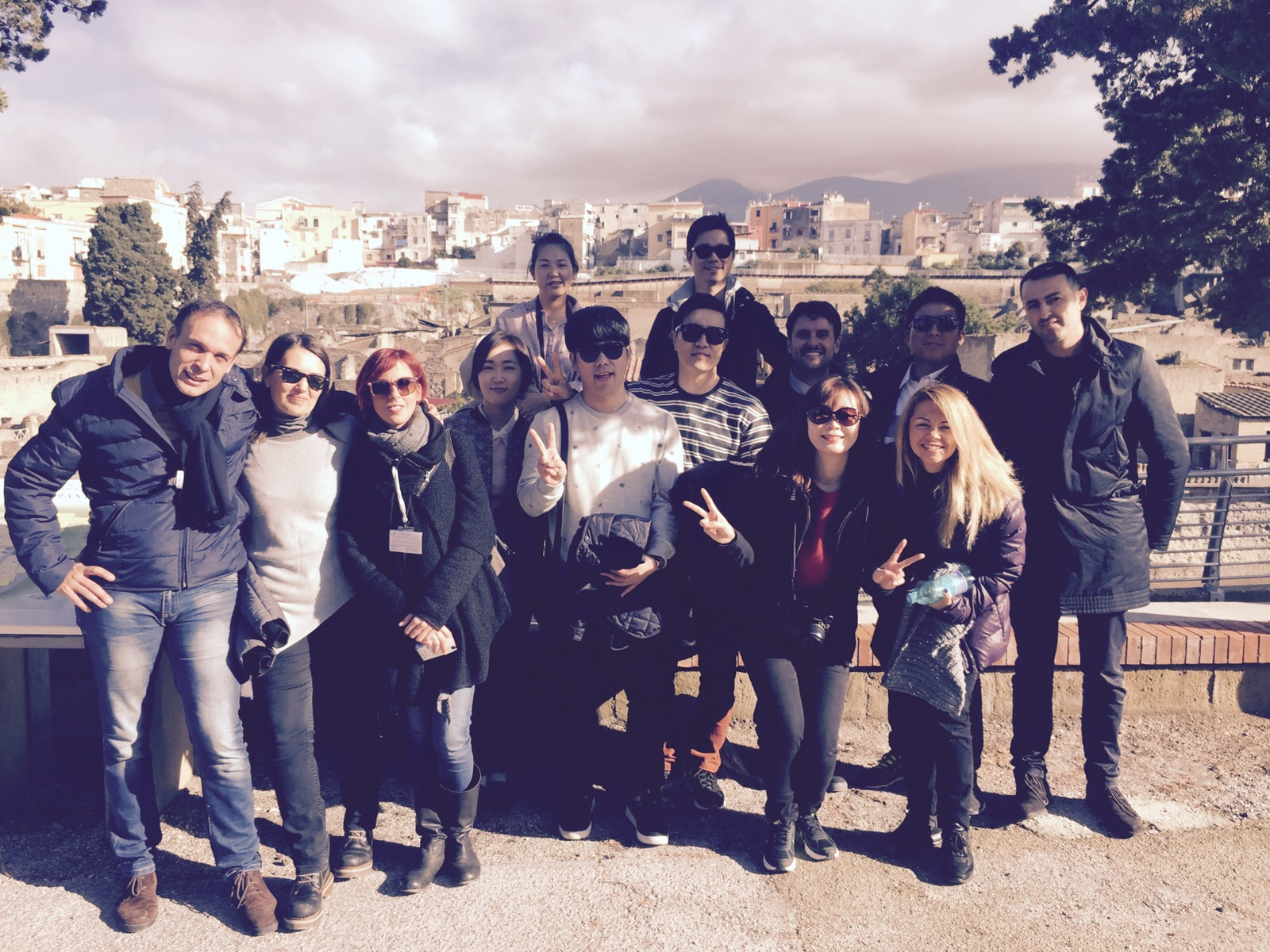 Tour operator coreani in visita a Ercolano. Buonajuto: «Al lavoro per diffondere il brand di Ercolano nel mondo»