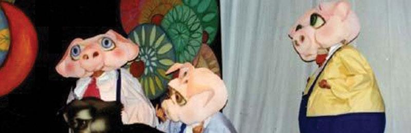 """""""I tre porcellini"""", in scena la compagnia la Mansarda Teatro dell'Orco al cinema teatro Summarte di Somma Vesuviana"""
