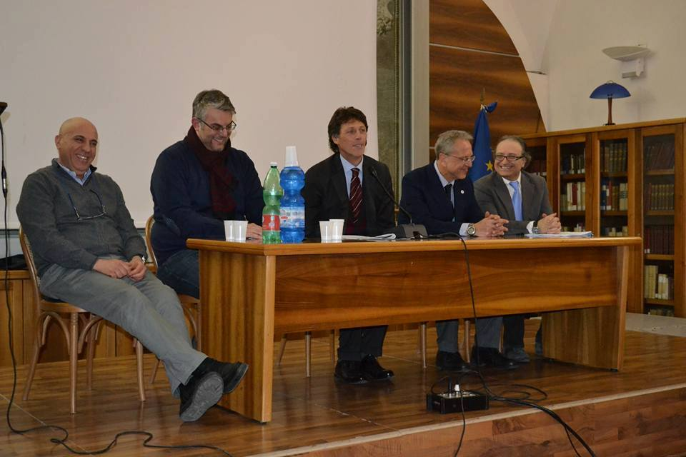 San Giorgio a Cremano. Disegno di legge sul rischio Vesuvio: il Senatore Cuomo e il sindaco Zinno in prima linea