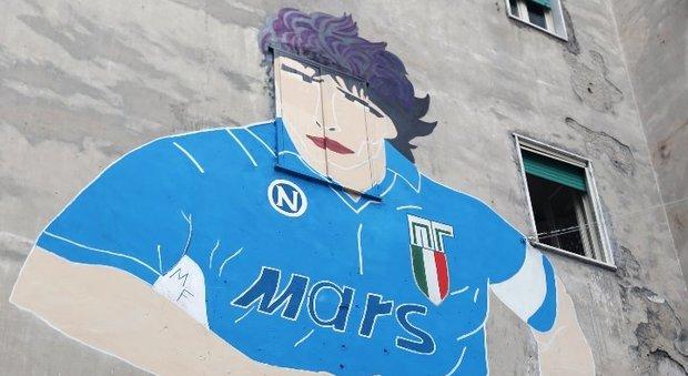 Il maestro del calcio di strada si riscopre tramite l'arte di strada: restaurato il murales del D10s ai Quartieri Spagnoli