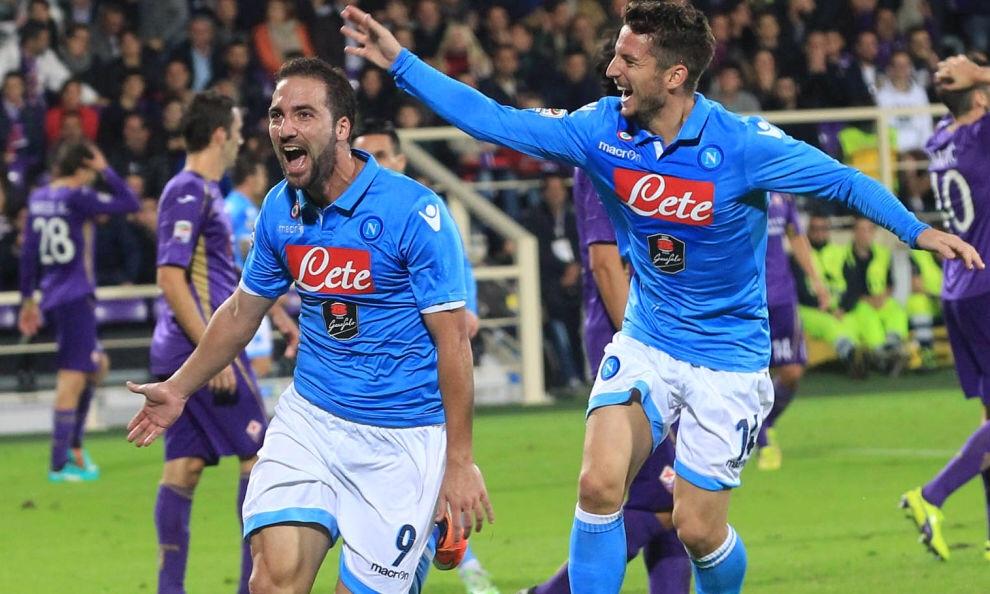 Altro che Juve-Inter: il vero derby d'Italia si è giocato al Franchi. 1 a 1 tra Napoli e Fiorentina