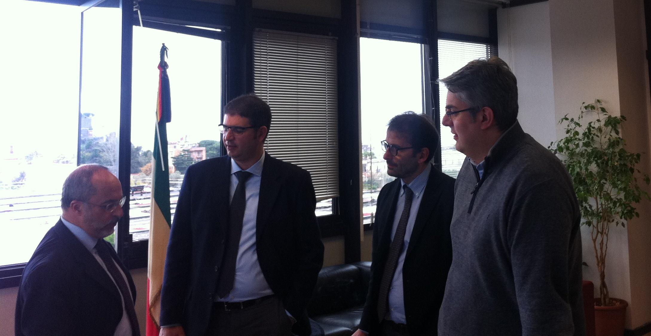 Riordino dei servizi sanitari locali. I Sindaci di San Giorgio e Portici incontrano il Commissario della Asl Na 3 Sud