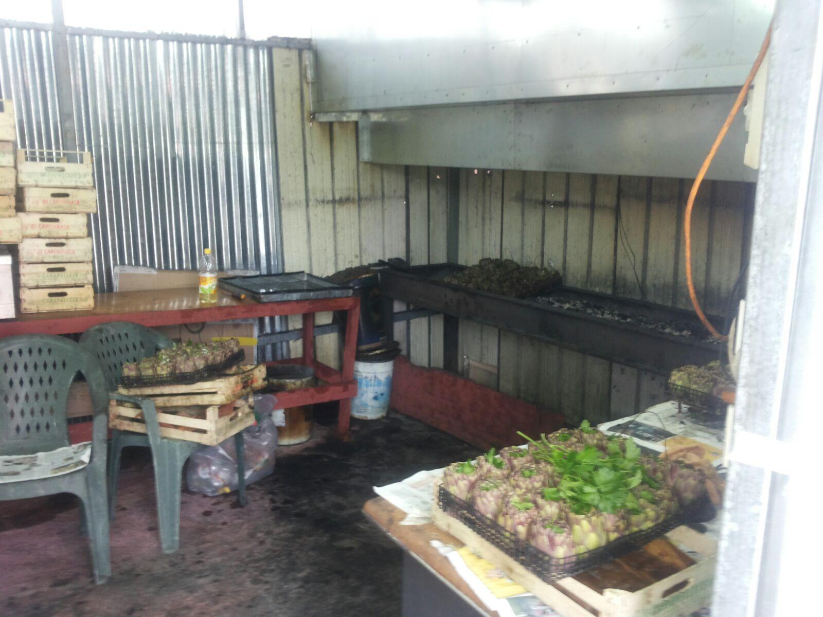 Ercolano. Sequestro di cibi cotti e alimenti lavorati venduti senza autorizzazione, multe per oltre 10mila euro.