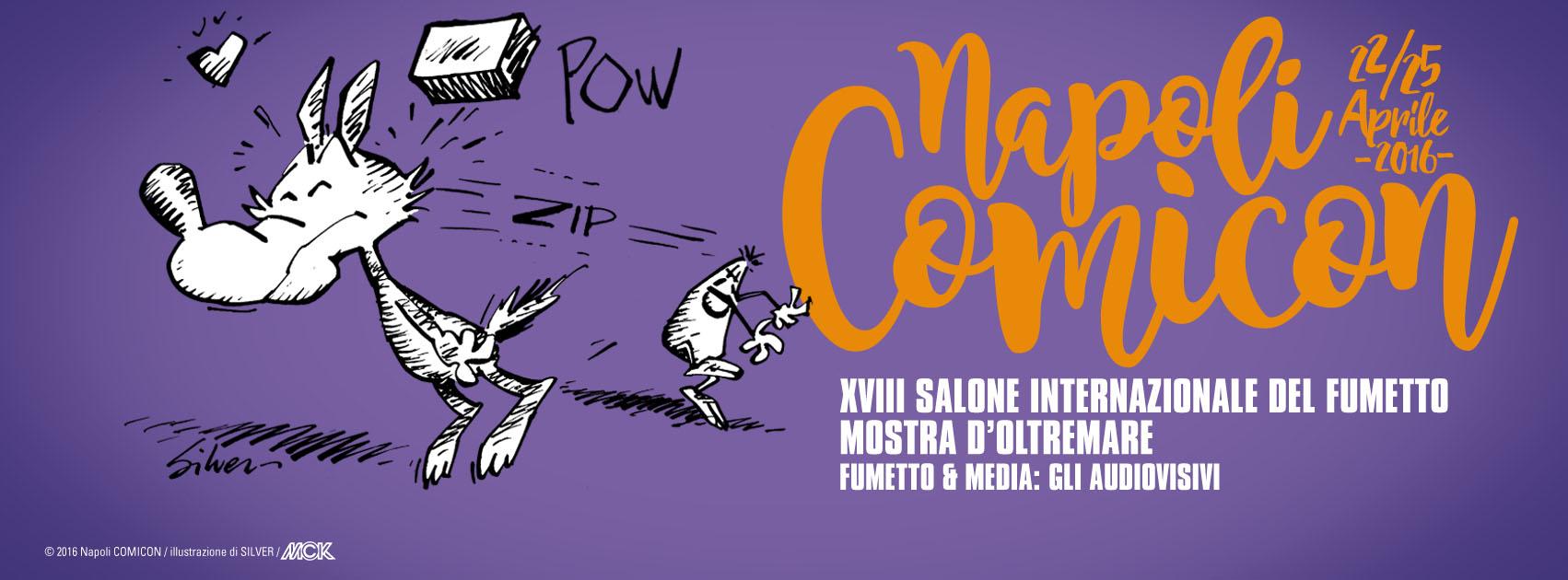 Ritorna il salone internazionale del fumetto: tutte le novità del Napoli Comicon 2016