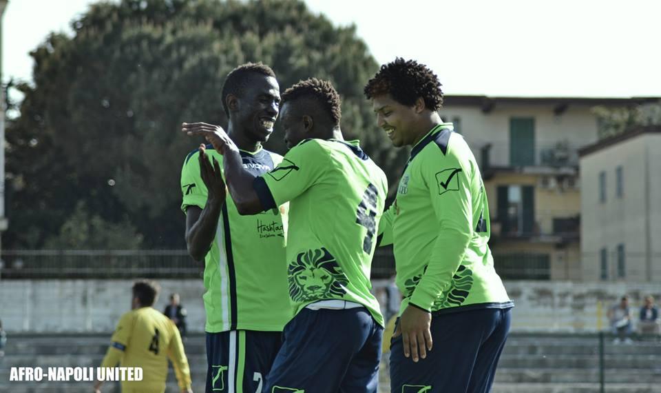 IL CALCIO DELL'INTEGRAZIONE A Ercolano l'Afro Napoli United sfiderà il Barca Ercolanese