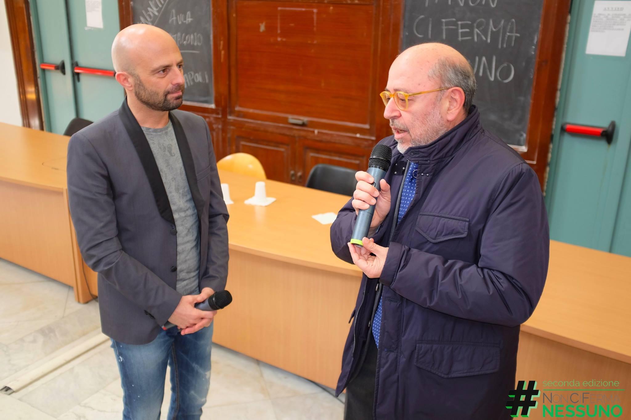Luca Abete ha concluso alla Federico II di  Napoli il tour motivazionale #NonCiFermaNessuno 2015/2016. Un avvincente viaggio tra scuole e Università che ha entusiasmato migliaia di studenti e consentito di raccogliere più di 15.000 pacchi di pasta per il Banco alimentare