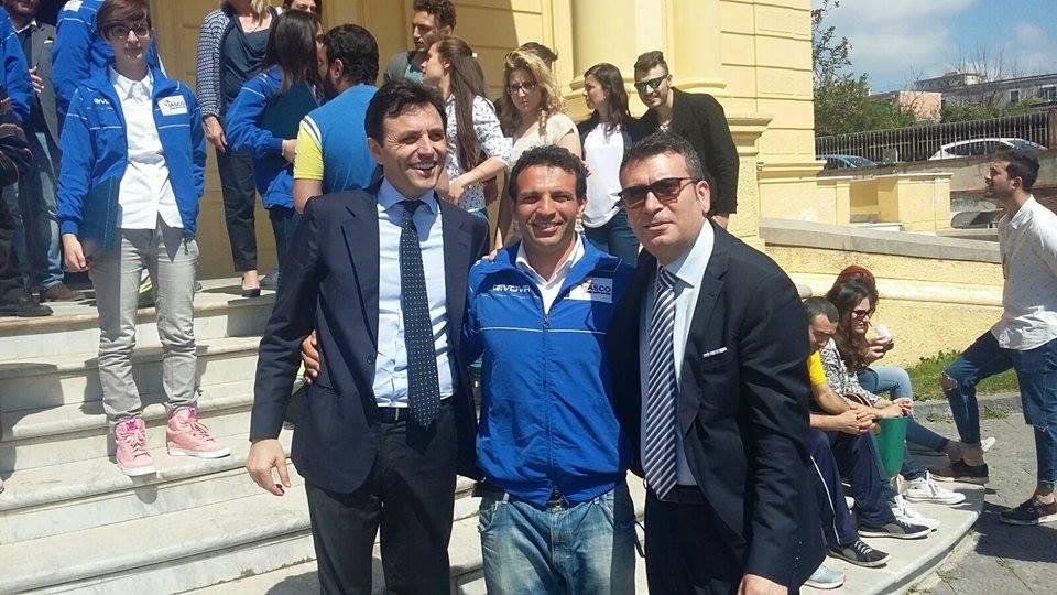 Premiati in Villa Maiuri gli atleti del Gruppo Sportivo del Centro Don Orione. Buonajuto: «Orgogliosi di avere in città una struttura d'eccellenza nel campo dell'integrazione»