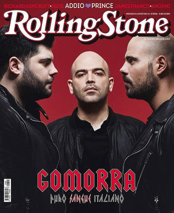 GOMORRA, PURO SANGUE ITALIANO – Sulla Copertina di Rolling Stone Saviano e i protagonisti di Gomorra la Serie