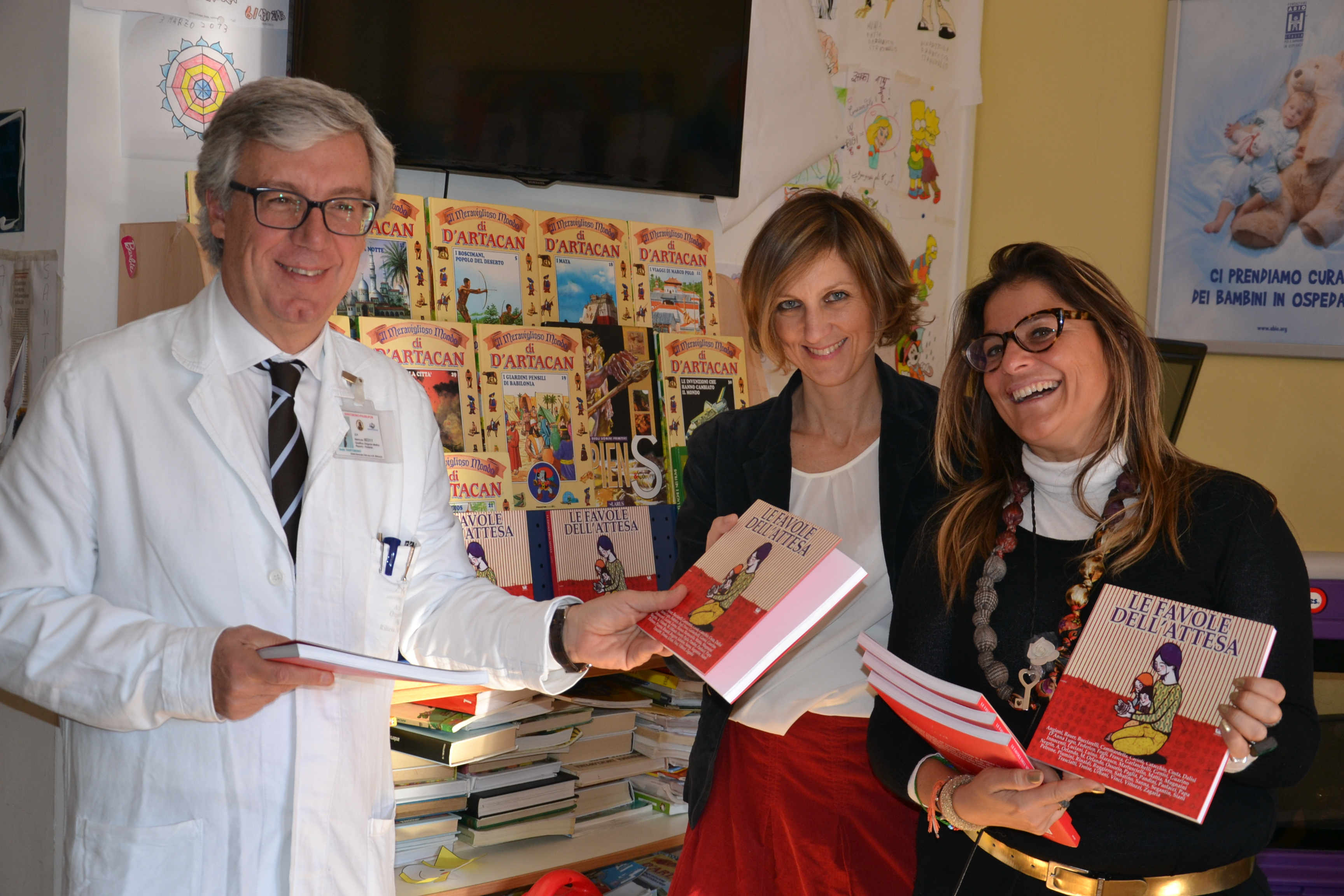 """""""Regalaci un libro!"""": l'iniziativa culturale a Volla per i bambini dell'ospedale Santobono di Napoli"""