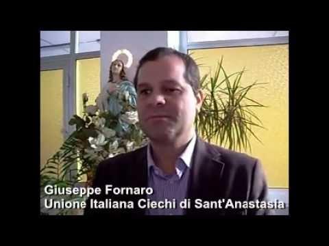 VERSO IL VOTO A SANT'ANASTASIA – L'intervento-appello alla futura classe dirigente anastasiana da parte di Giuseppe Fornaro dell'Unione Italiana dei Ciechi e degli Ipovedenti
