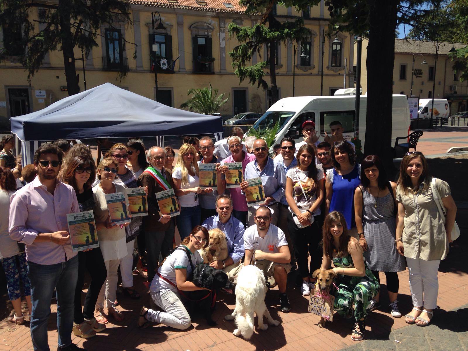 Grande successo per la Giornata del Microchip a Somma Vesuviana: accordo per la tutela dei cani randagi