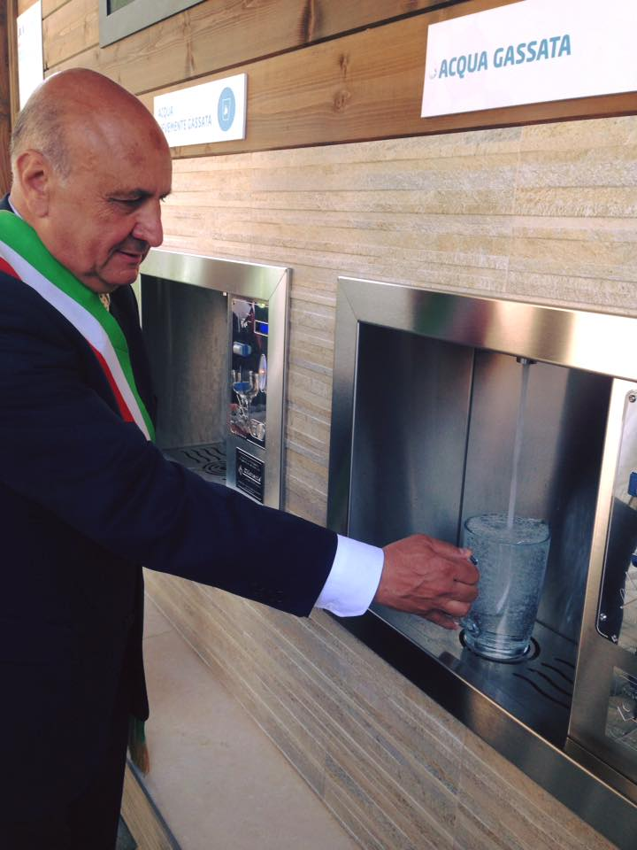 A San Sebastiano al Vesuvio, inaugurata la Casa dell'Acqua. E'  la 50esima struttura erogatrice Acquatec attiva e funzionante.
