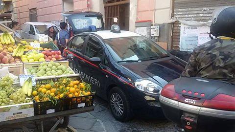 Portici. In assenza di una seria politica di riqualificazione dell'area, controlli e sequestri al Centro Storico da parte dei Carabinieri