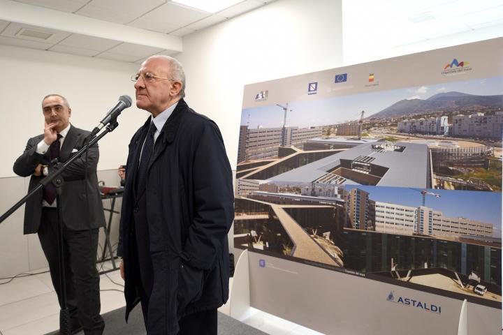 SAVE THE DATE – Il prossimo 14 dicembre aprirà (in parte) l'Ospedale del Mare