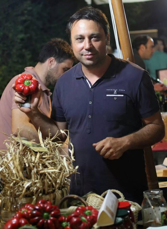 All'Osteria Summa Terra Mr Papaccella Vincenzo Egizio per una cena d'autore coi prodotti Slow Food