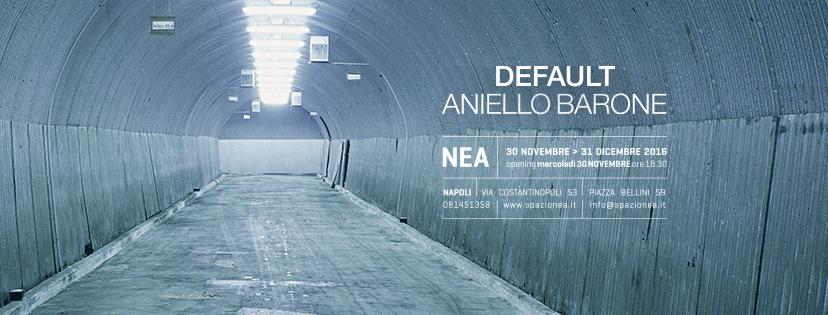 """""""Default"""" allo Spazio Nea di Luigi Solito: le fotografie di Aniello Barone per raccontare i cambiamenti antropologici contemporanei"""