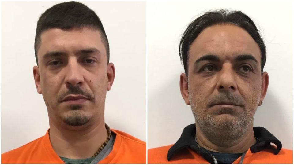 Finti corriere arrestati dagli agenti del commissariato di Polizia Portici-Ercolanoa Napoli con 22 mila euro di merce