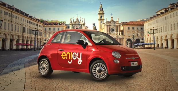 Tre napoletani accusati di aver rubato le Fiat 500 del progetto Enjoy