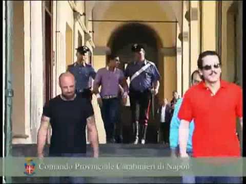 Salvatore Barile reggente latitante del clan Mazzarella arrestato al ristorante con la figlia a Benevento